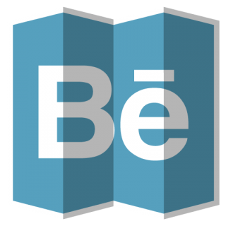 Behance Folded Icon PNG images