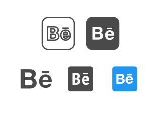Hd Behance Icon PNG images