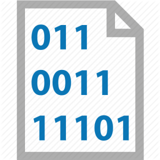 Binary Icon Code File PNG images