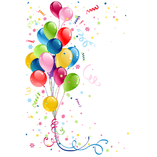 Birthday Balloons Party Png PNG images