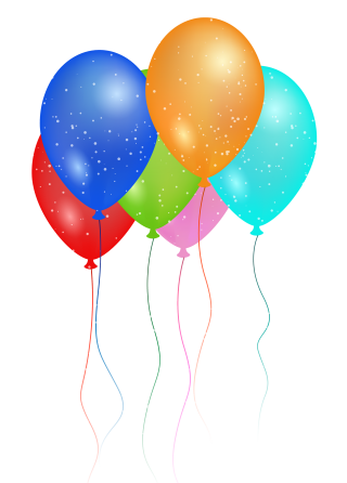 Birthday Party Balloon PNG Image PNG images