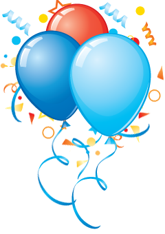 Birthday Party Balloons Png PNG images