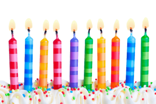 Birthday Party Candles Transparent Background PNG images