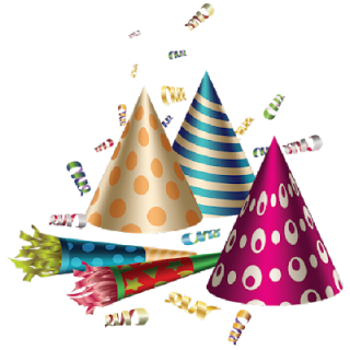 Download Birthday Party Hats PNG images