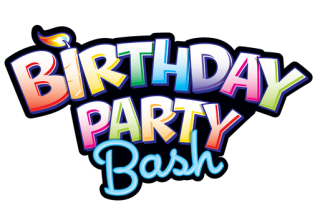 Happy Birthday Bash Text Png PNG images