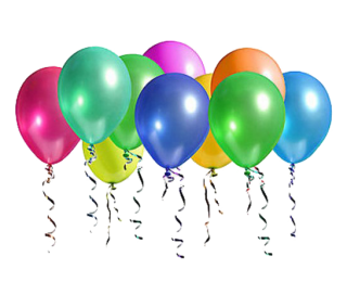 Party Balloons PNG Pic PNG images