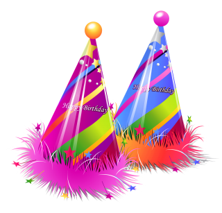 Two Birthday Hat PNG Transparent Images PNG images