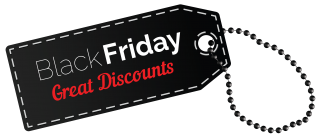 Black Friday Discounts Png PNG images
