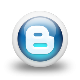 Blue Blogger Logo Icon Png PNG images