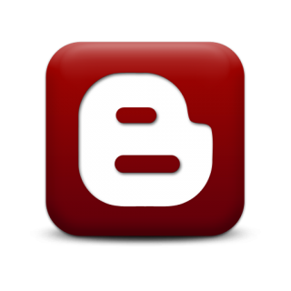 Red Blogger Logo Icon Png PNG images