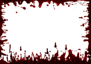 Blood Frame Background Png PNG images