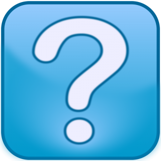 Blue Question Mark Icon PNG images