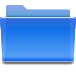 Folder Blue Icon PNG images