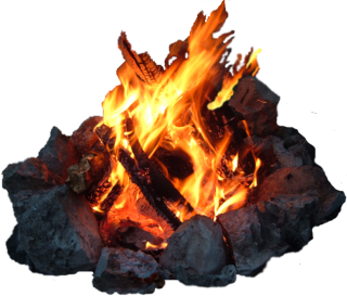 Stone, Bonfire, Flame PNG PNG images