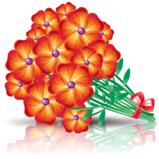 Flowers Bouquet Icon Png PNG images