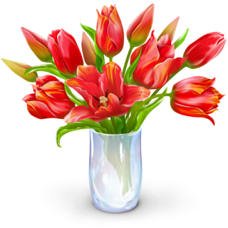 Red Bouquet Icon PNG images
