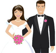 Icon Size Bride PNG images