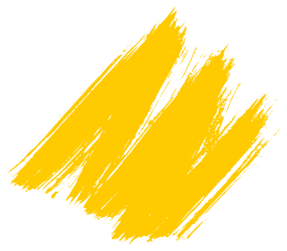 Yellow Brush Stroke Style PNG images