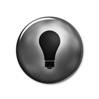 Icon Bulb Off Svg PNG images