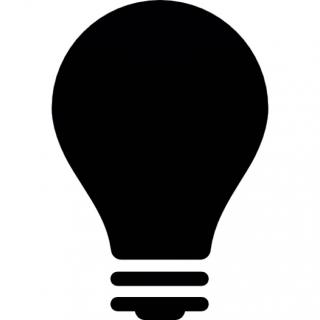 Light Bulb Off Icon PNG images