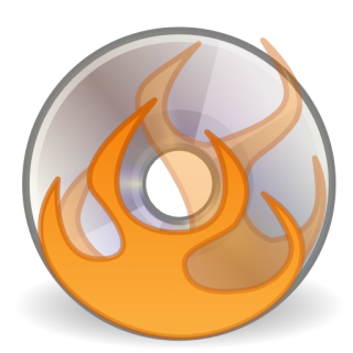 Image Burn Disk Free Icon PNG images