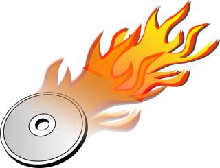 Icon Drawing Burn Disk PNG images