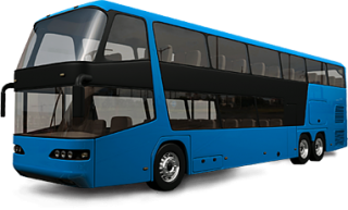 Blue Bus Png PNG images
