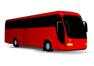 Red Bus Png Clipart PNG images