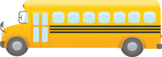 Yellow Bus Png PNG images