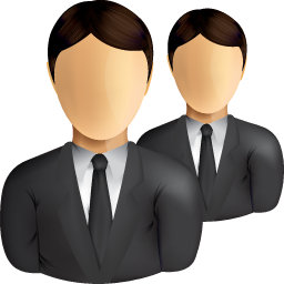 Business Users Icon — Shine Set: Managers, Leaders, Suits PNG images