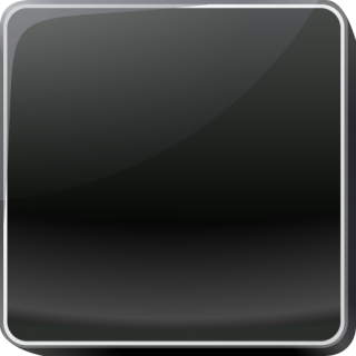 Black Button Icon Png PNG images
