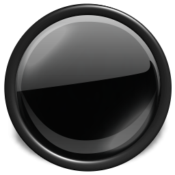 Black Glossy Button Icon Png PNG images