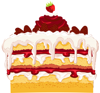 Strawberry Cake PNG PNG images