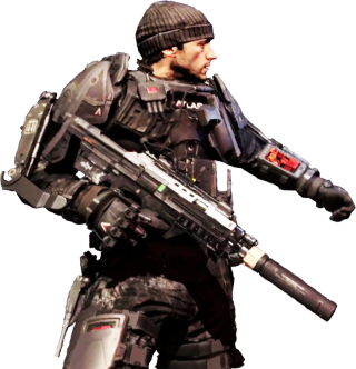 Call OF Duty Advanced Warfare Render PNG images