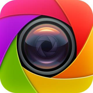 Colorful Analog Camera Icon Png For IOS (app Icon, Full Size) PNG images