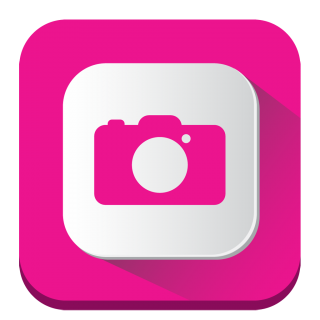 Pink Photography Icon, Camera PNG PNG images