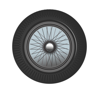 Tire | Free Stock Photo | Illustration Of A Car Tire | # 17216 PNG images