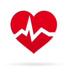 Red Rhythm Cardiology Icon PNG images