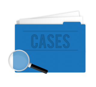 Case Study Blue Icon PNG images