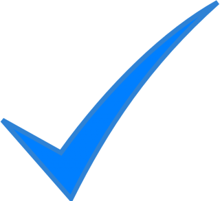Check Mark Blue PNG images