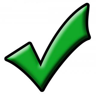 Check Mark Green Png PNG images