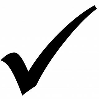 Check Mark Icon PNG images