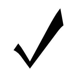 Check Mark Symbol PNG images