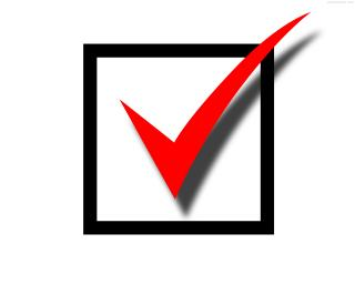 Red Check Mark PNG images
