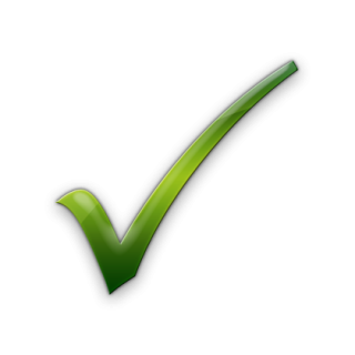Simple Check Mark Icon PNG images