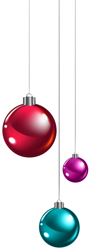 Christmas Balls Png Available In Different Size PNG images