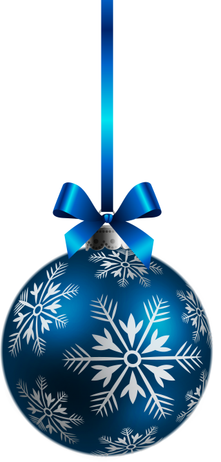 Blue Ball Ornaments Christmas PNG images
