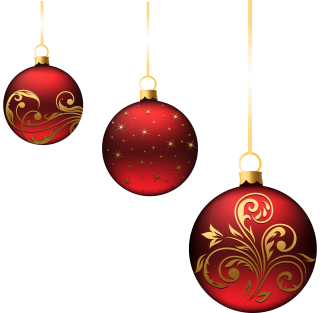 Christmas Ornaments Balls PNG images