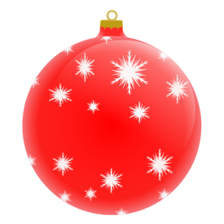 Christmas Ornaments Balls With Stars Png PNG images