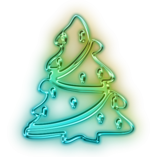 Vector Christmas Tree Icon PNG images